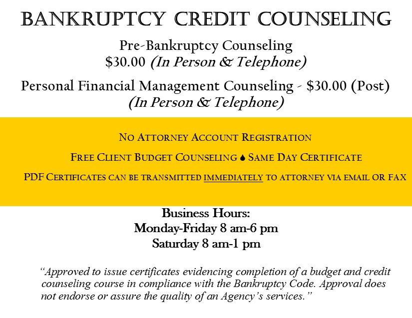 Bankruptcy Counseling | The Kingdom Ministries & How To File For ...